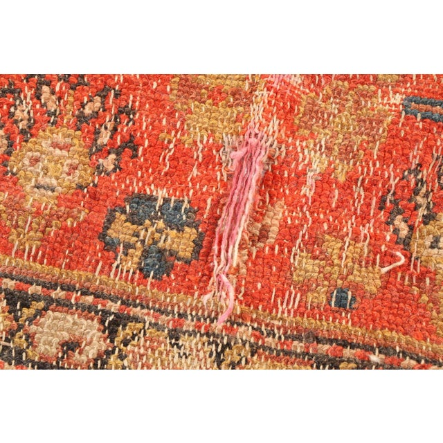 Early 20th Century Early 20th Century Antique Hand Knotted Persian Rug-4'4 X 7'7 For Sale - Image 5 of 8