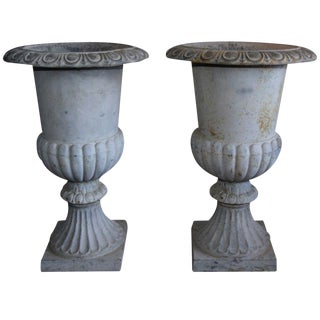 Monumental French Urns - A Pair For Sale