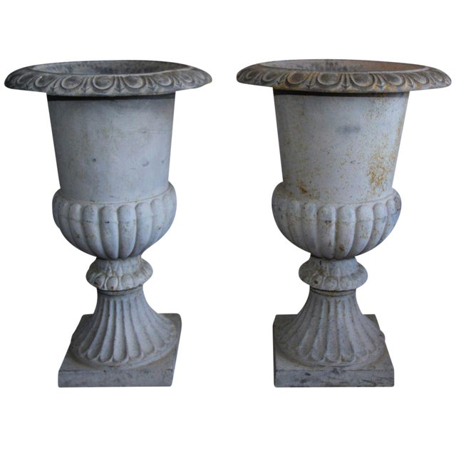 Monumental French Urns - A Pair - Image 1 of 5