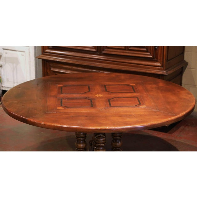 Crafted in the Pyrenees mountains of France half a century ago with 18th and 19th century old timber, the elegant six foot...