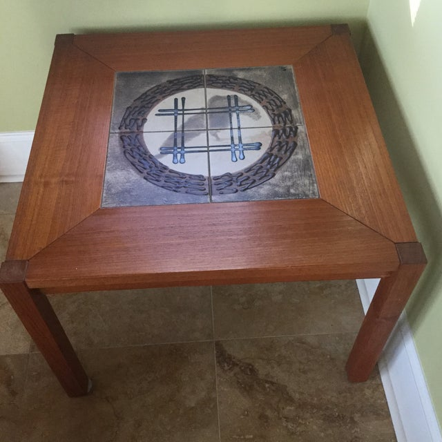 Danish End Table - Image 5 of 6