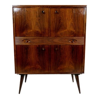 Mid-Century Rosewood Cabinet / Bar
