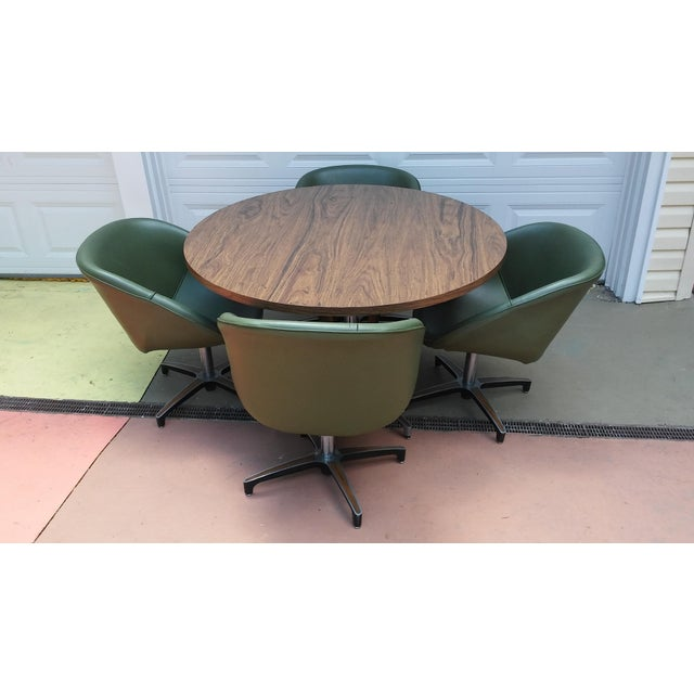 Chromcraft Mid Century Dining Set - Image 9 of 10