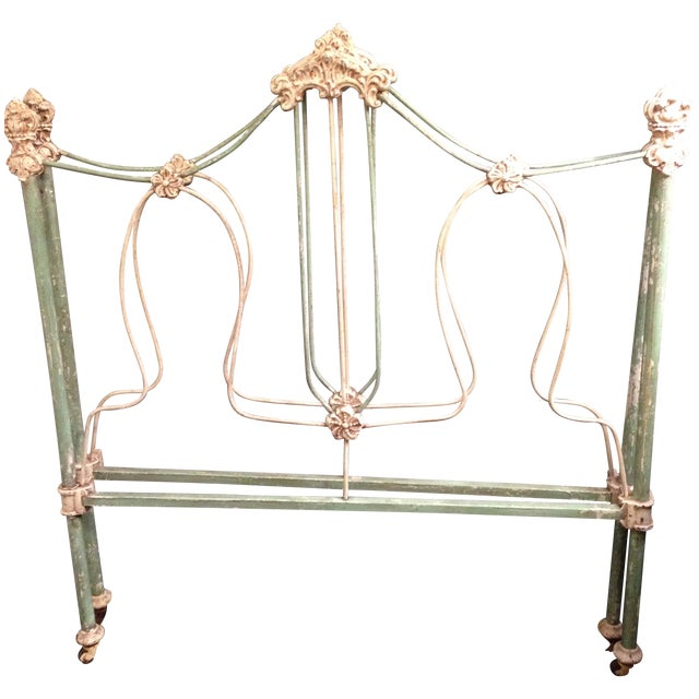19th Century Antique Iron French Day Bed - Image 1 of 6