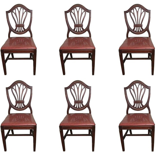 Classic Mahogany Dining Chairs - Set of 6 For Sale - Image 12 of 12