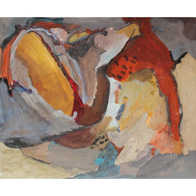 Jack Freeman Expressionist Painting, Circa 1960s - Image 1 of 2