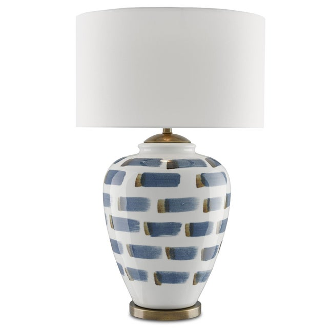 Traditional Brushstroke Table Lamp For Sale - Image 3 of 3