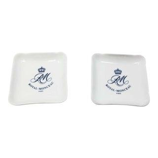 Porcelain Royal Monceau Ashtray Vide Poche For Sale