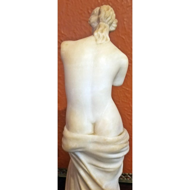 19c Italian Marble Figurine of Venus De Milo For Sale - Image 10 of 12
