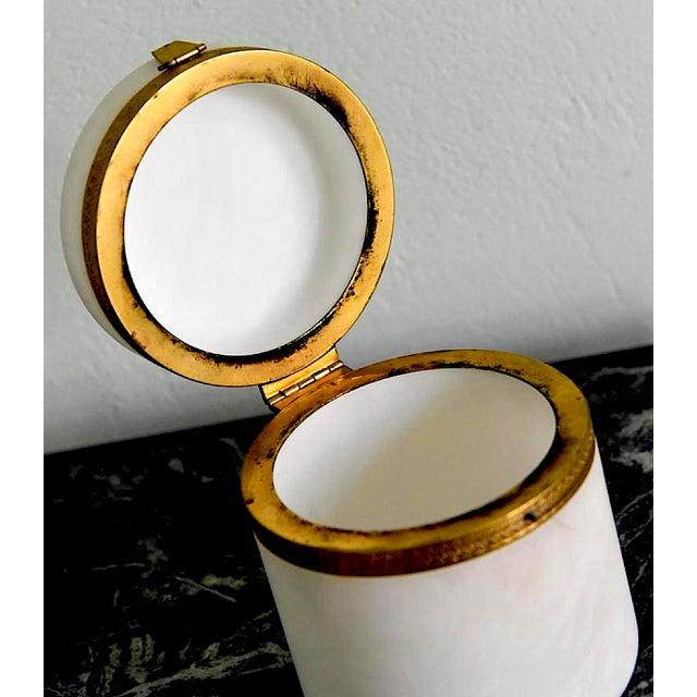 Italian Alabaster Ormolu Box For Sale - Image 4 of 7