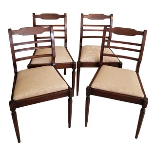 1950s Vintage Chairs- Set of 4 For Sale