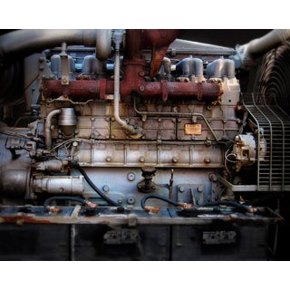 """""""Engine"""" Contemporary Still Life Photograph Print For Sale"""
