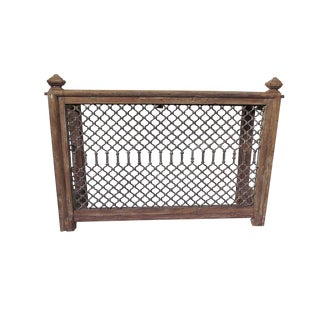 Industrial Hendrika Wooden Console Table For Sale