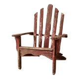 Image of Vintage Adirondack Children's Chair For Sale