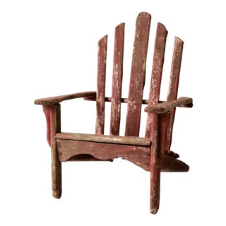 Vintage Adirondack Children's Chair For Sale
