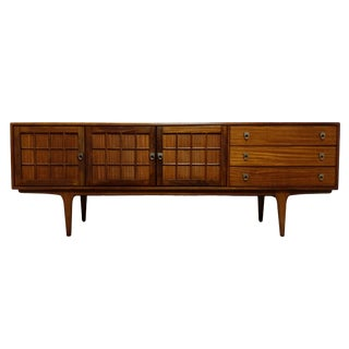 Mid Century Modern Teak Credenza by Younger For Sale