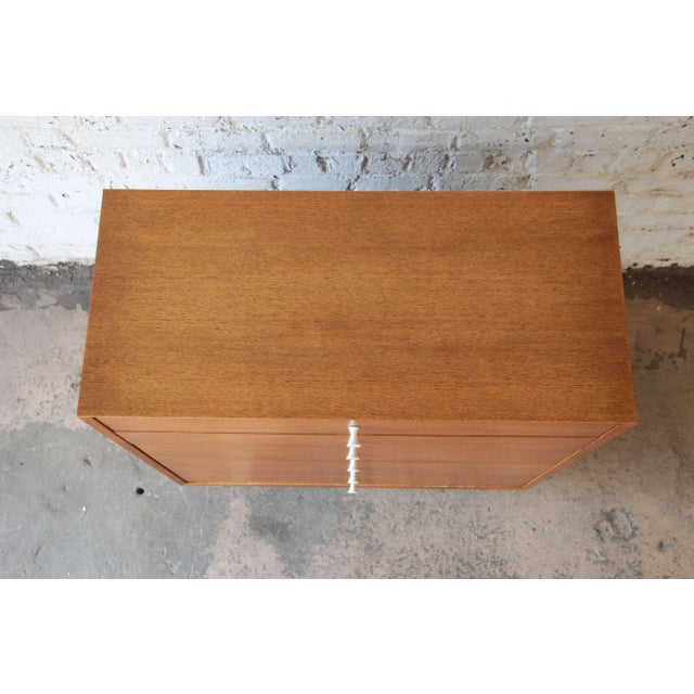 Brown George Nelson for Herman Miller Thin Edge Dresser, Model 4620 For Sale - Image 8 of 11