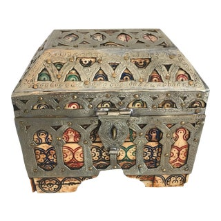 Moroccan Box - Jewelry Casket