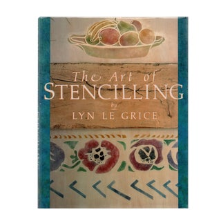 """1986 """"The Art of Stencilling"""" Coffee Table Book For Sale"""