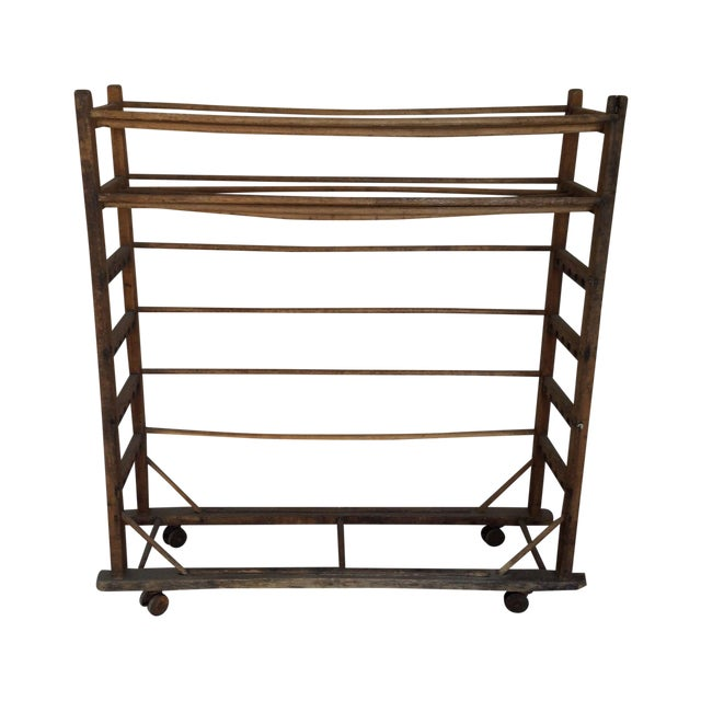 Antique Wooden Rack - Image 1 of 6