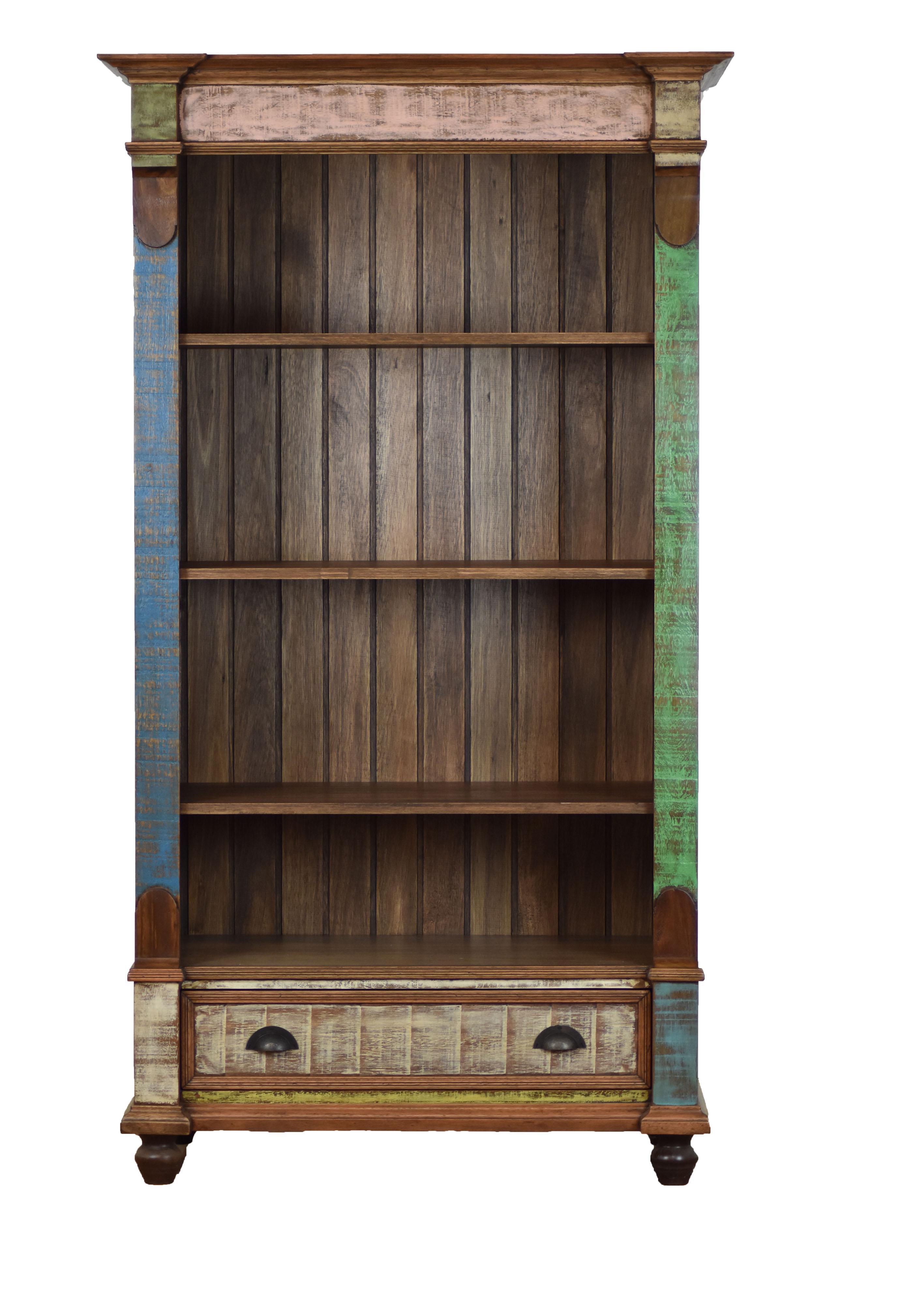 Reclaimed Wood Bookcase Chairish
