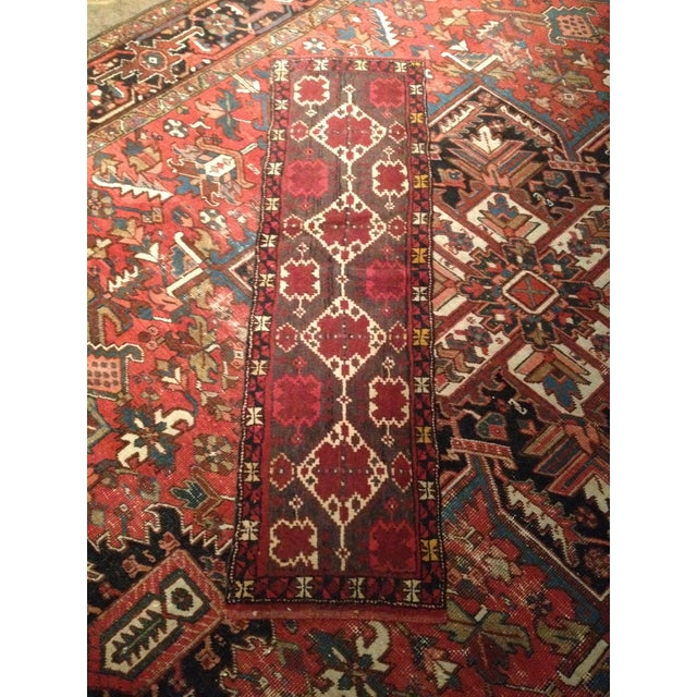 Vintage Turkmen Wedding Trapping - 1′4″ × 4′7″ - Image 2 of 5