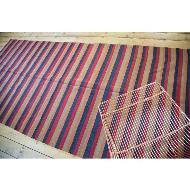 "Islamic Vintage Kilim Rug Runner - 4'9"" X 10'6"" For Sale - Image 3 of 5"