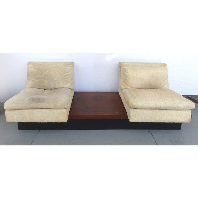 Pearsall-Style Modular Platform Sofa - Image 4 of 9