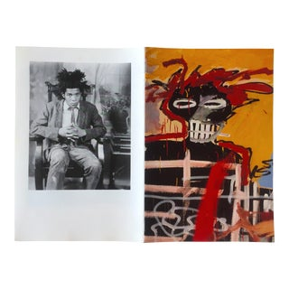 Jean Michel Basquiat Whitney Retrospective Art Exhibition Pamphlet, 1992