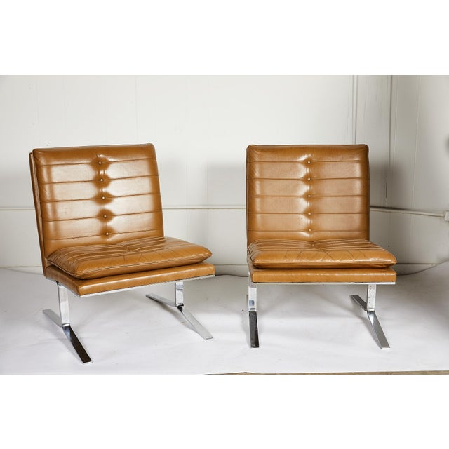 Mid 20th Century Pair of Midcentury Lounge Chairs For Sale - Image 5 of 13