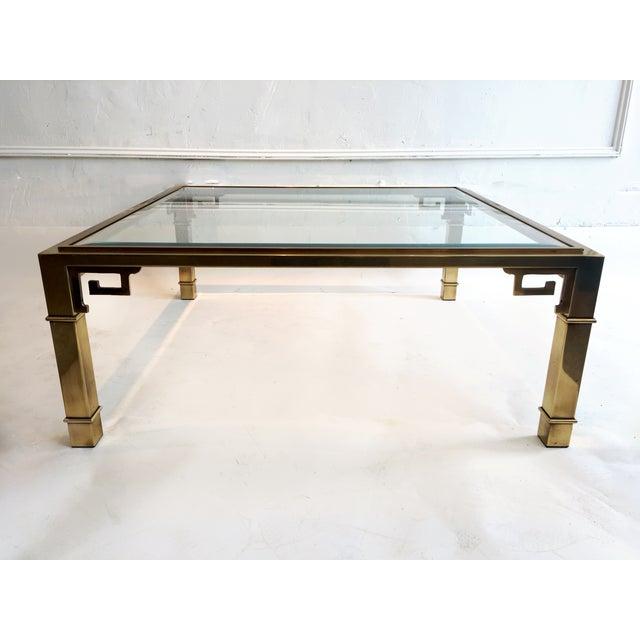 Mastercraft Brass Coffee Table - Image 2 of 5