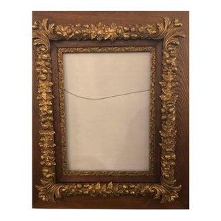 1980s Oak Gilt Frame For Sale