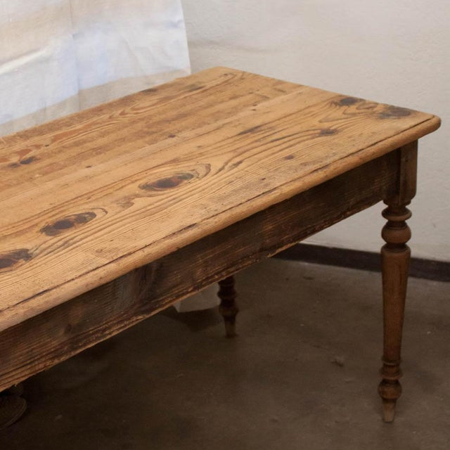 Vintage French Spindle Leg Table - Image 3 of 7