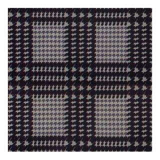 Tessel Aubergine Fabric , Cut Velvet From Belgium, Multiple Yardage