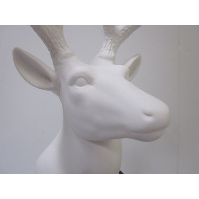 Faux White Reindeer Deer Antlers Bookshelf Decor - Image 11 of 11