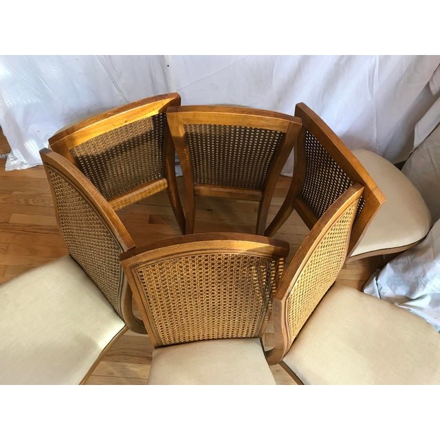 Mother purchased this set of 6 chairs and a table in the late years of 20th century. ( We are only selling chairs at this...