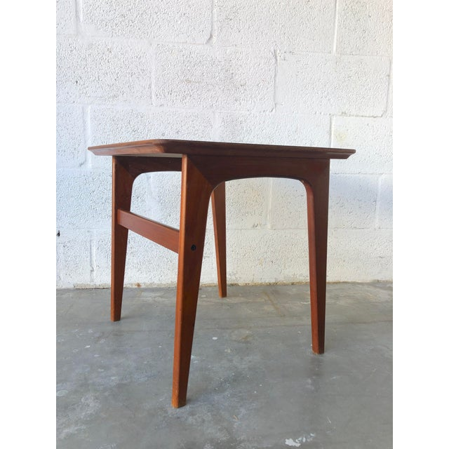 Vintage Mid-Century Danish Modern Nesting Tables (Set of Two) For Sale - Image 9 of 13