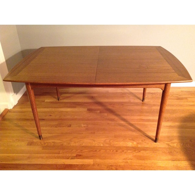 Wood John Keal for Brown Saltman Dining Table For Sale - Image 7 of 7