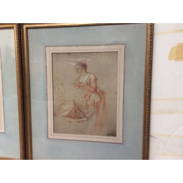 Decorative Prints of Old Master Drawings - A Pair - Image 7 of 8