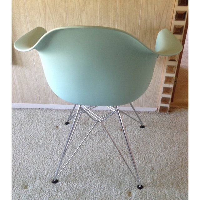 Eames Eames Aqua Eiffel Chair for Herman Miller. For Sale - Image 4 of 6