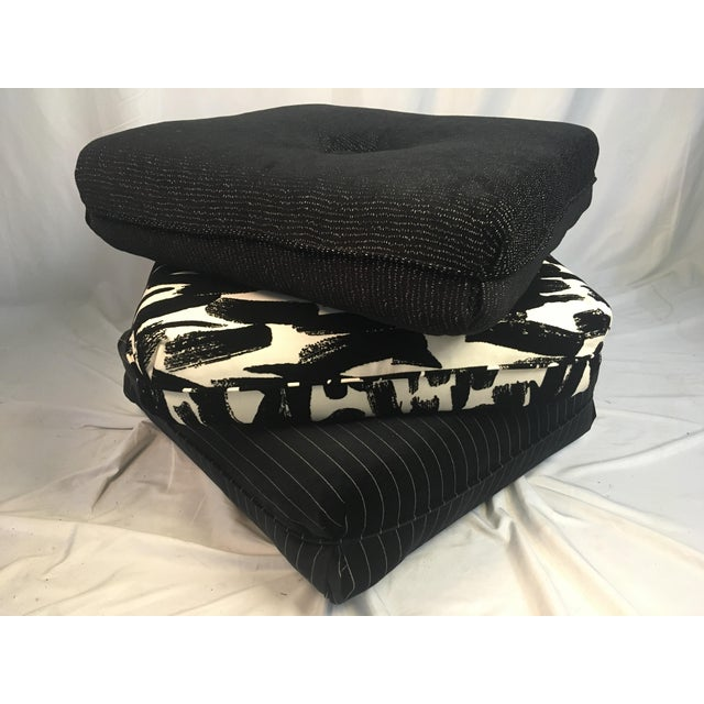 Contemporary Three Pillow Stool For Sale - Image 10 of 10