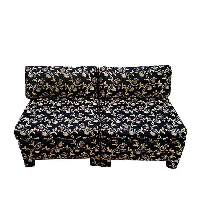 Baughman Style Asian Inspired Slipper Chairs- A Pair - Image 5 of 5