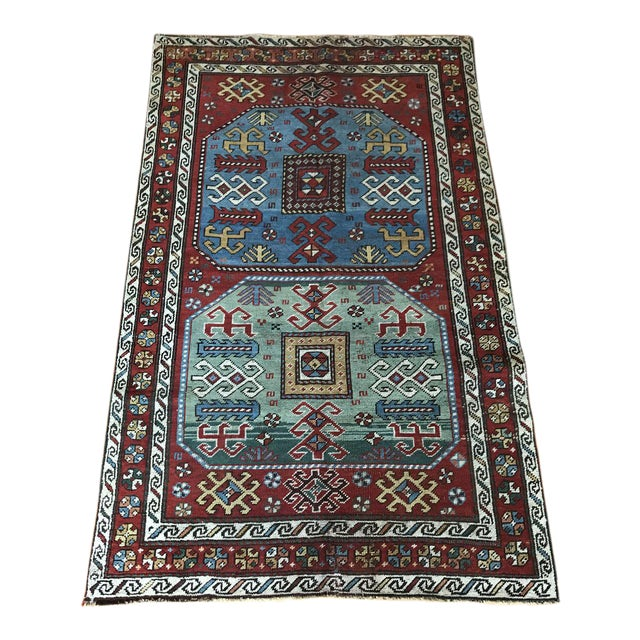 Bellwether Rugs Vintage Desmond Turkish Area Rug 5 4 X3 4