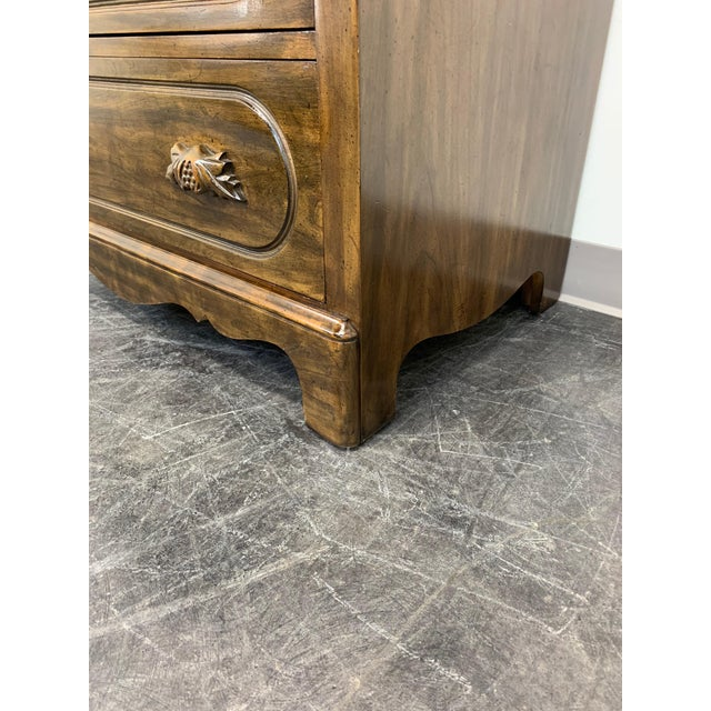 Davis Cabinet Lillian Russell Solid Walnut Victorian Slant Drop Front Desk 2 For Sale - Image 11 of 13