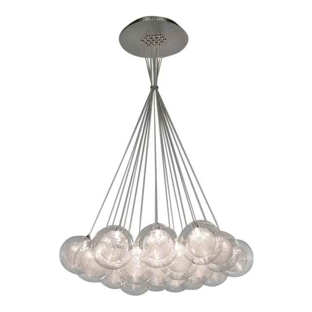 Kadur Gold Drizzle Pendant Chandelier For Sale