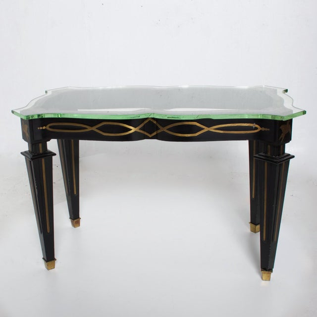 Arturo Pani Mid-Century Mexican Modernist Fleur De Lis Side Table by Arturo Pani For Sale - Image 4 of 11