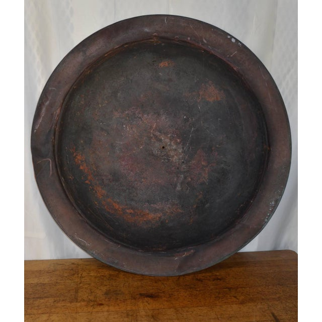 Wall Mount Rustic Copper Disc - Image 2 of 8