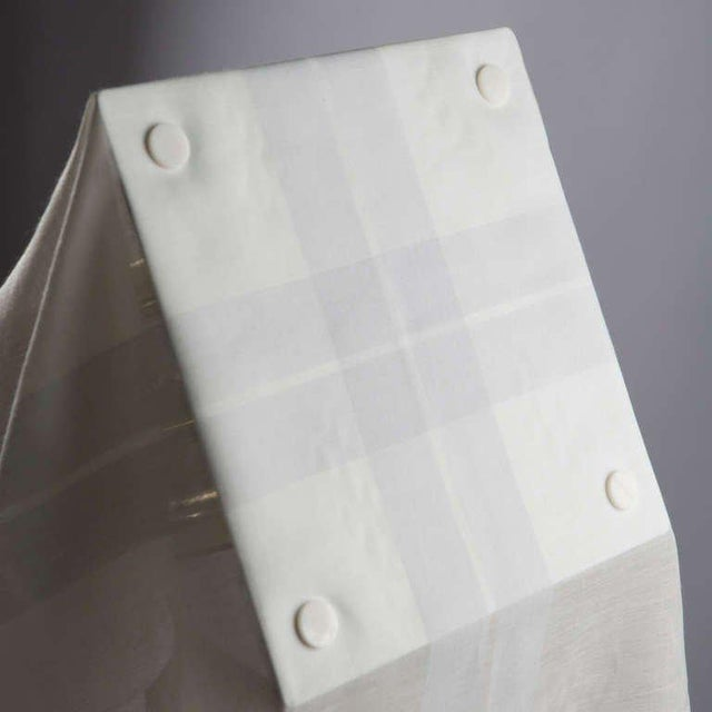 """Fabric """"Nefer"""" Table Lamp by Kazuide Takahama for Sirrah For Sale - Image 7 of 10"""