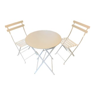 Fermob Bistro Patio Dining Set-Set of 3 For Sale
