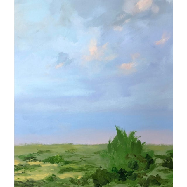 Acrylic Southern Abstract Landscape by Chelsea Fly For Sale - Image 7 of 8